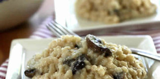 risotto champignons et fromage au thermomix