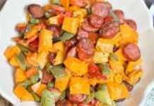saucisses aux légumes au cookeo