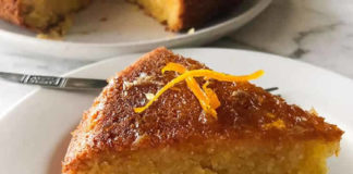Cake à l'orange et aux amandes au thermomix