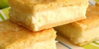 Carrés au fromage à la crème