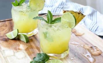 Mojito ananas pour enfants au thermomix