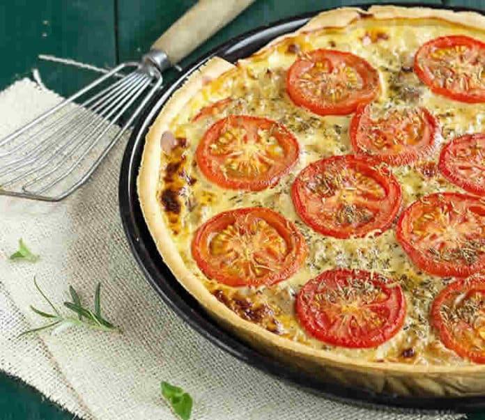 Quiche thon et tomates au thermomix