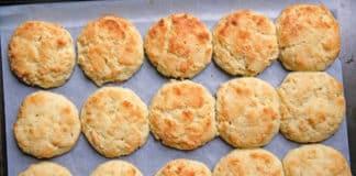 Recette biscuit au parmesan ww