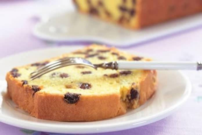 Recette cake aux raisins secs ww