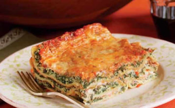 Recette lasagnes ricotta épinards ww