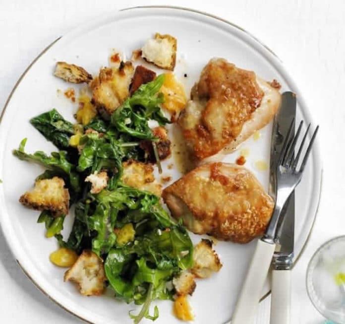 Recette poulet rôti au citron ww