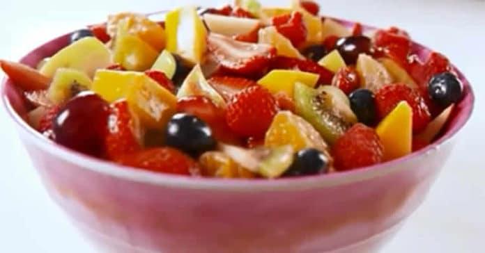 Recette salade de fruits ww
