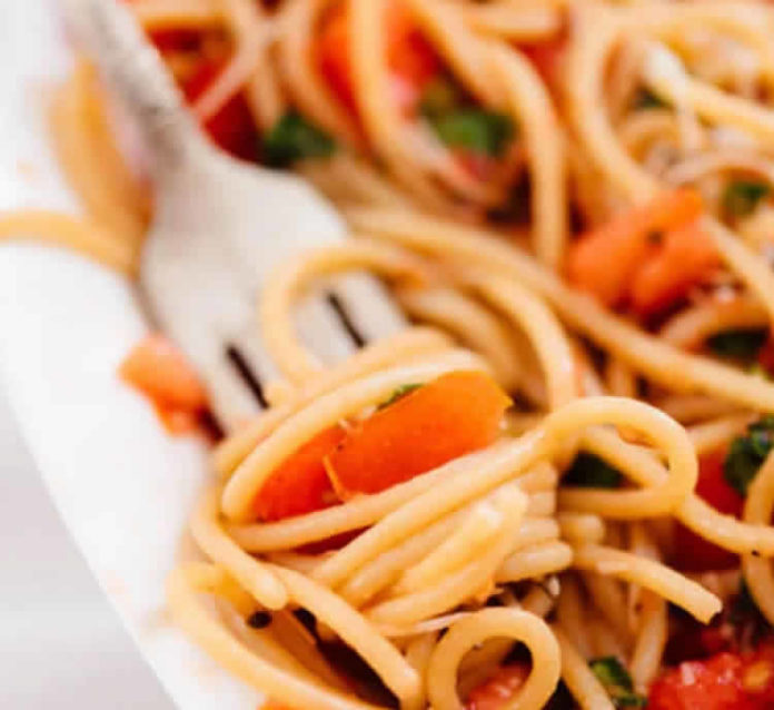 Recette spaghetti à la tomate ww
