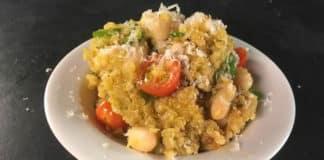 Risotto de quinoa haricot et courgette au thermomix