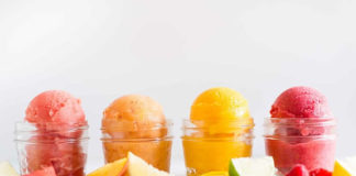 Sorbet aux fruits facile au thermomix