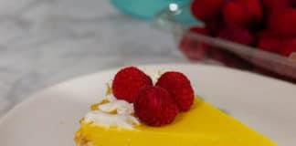Tarte au citron à la crème