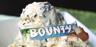 Yaourt glacé au bounty au thermomix