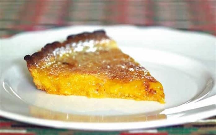 tarte à l'orange espagnole