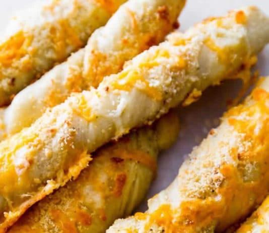Bâtonnets de pain au fromage au thermomix