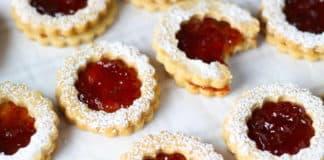 Biscuits à la confiture de fraises au thermomix