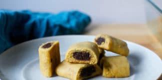 Biscuits fourrés à la figue - figolus au thermomix