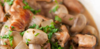 Blanquette de veau et champignons au thermomix