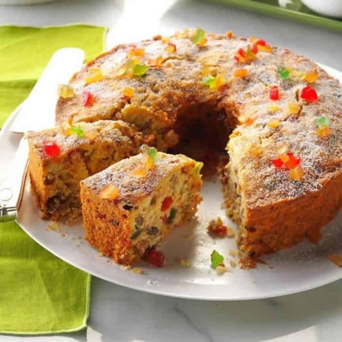 Gâteau aux fruits confits au thermomix