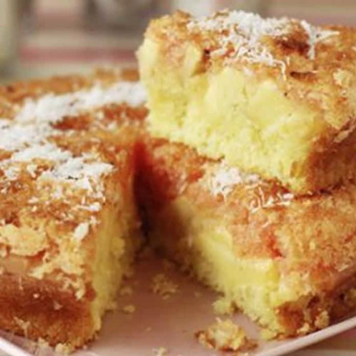 Gâteau aux pommes et noix de coco au thermomix