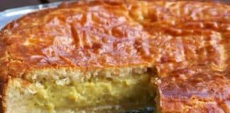 Gâteau basque traditionnel au thermomix