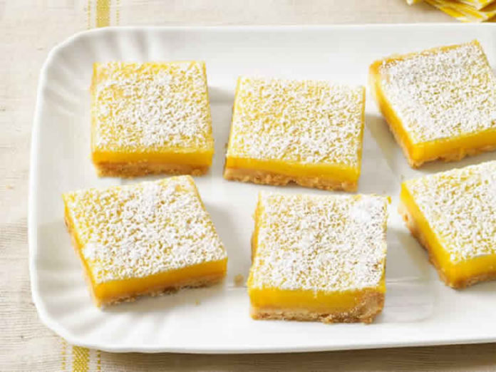 Lemon bars au thermomix