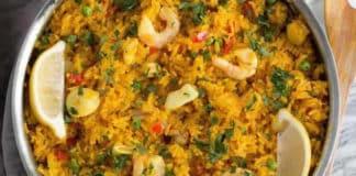 Marmite fruits de mer et riz au cookeo