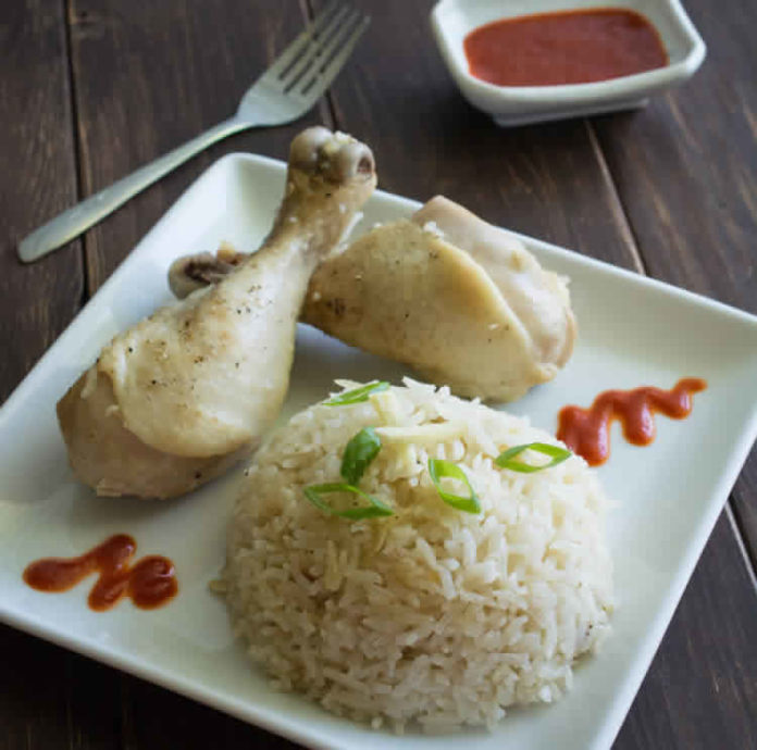 Poulet et riz varoma au thermomix