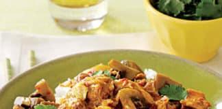 Recette sauté de porc sauce curry au thermomix