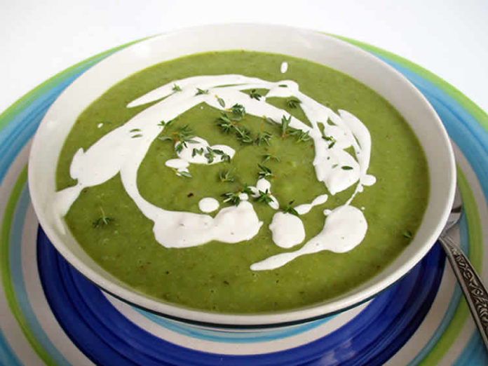 Recette soupe de haricots verts au thermomix