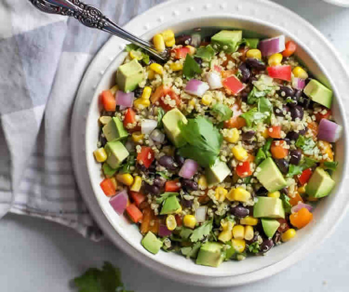 Salade de quinoa et avocat au thermomix