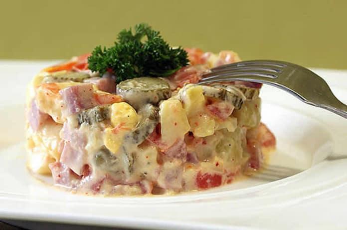 Salade piémontaise facile au cookeo