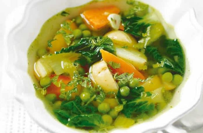 Soupe aux 7 légumes ww
