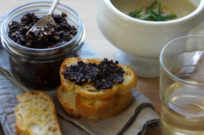 Tapenade olive noire au thermomix