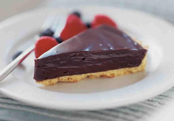 Tarte au chocolat sans cuisson au thermomix