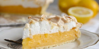 Tarte au citron meringuée sans beurre au thermomix