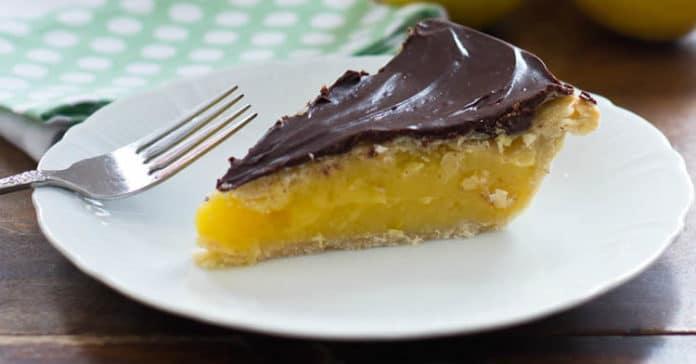 Tarte citron chocolat au thermomix