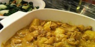 Blancs de poulet et sauce curry au thermomix