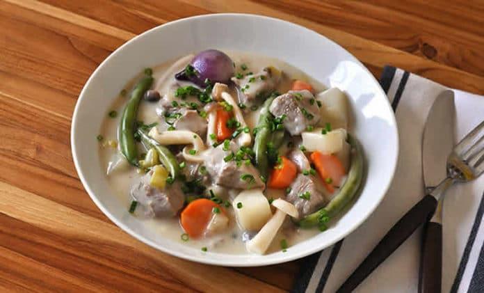 Blanquette de veau aux légumes au thermomix