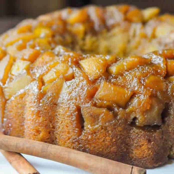 Gâteau caramélisé à l'ananas au thermomix
