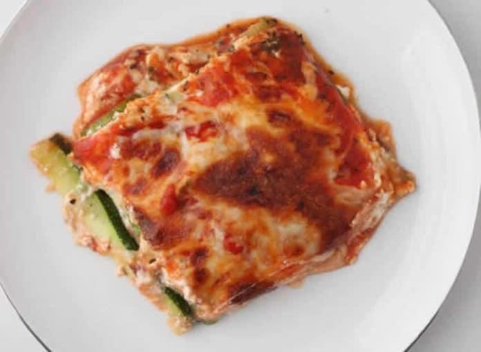 Lasagnes au thon et courgettes au thermomix