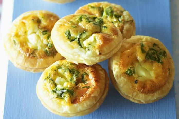 Mini quiche sans pâte au saumon au cookeo