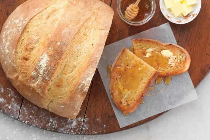 Recette de pain de campagne au thermomix