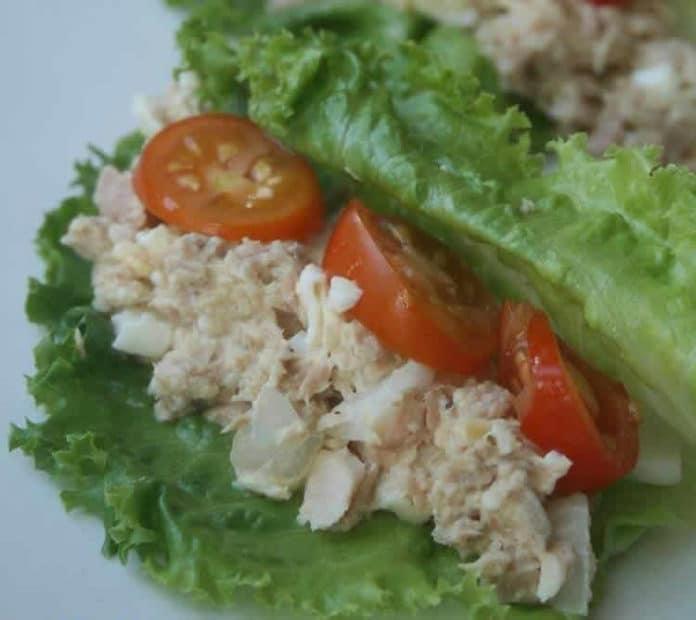 Salade thon tomate ww