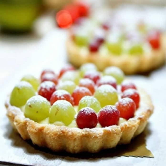 Tarte aux raisins au thermomix