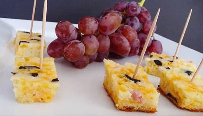 Cake aux olives apéritif au thermomix