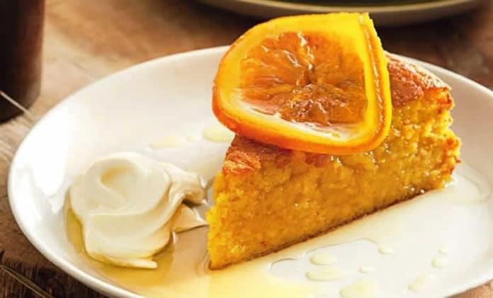 Cake moelleux à l'orange au thermomix