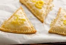 Chausson au citron à la vanille