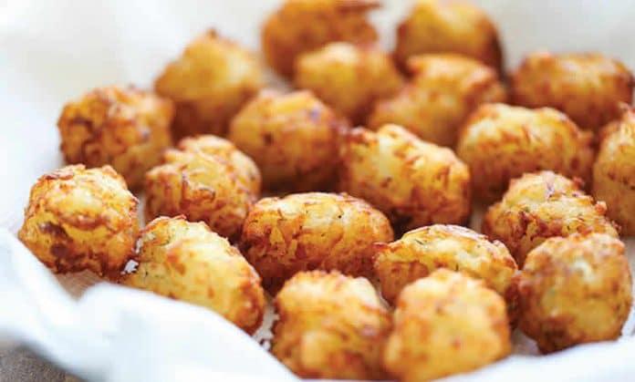 Croquettes de pomme de terre frites