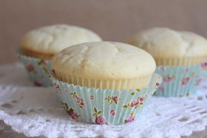 Cupcake à la vanille sans oeuf
