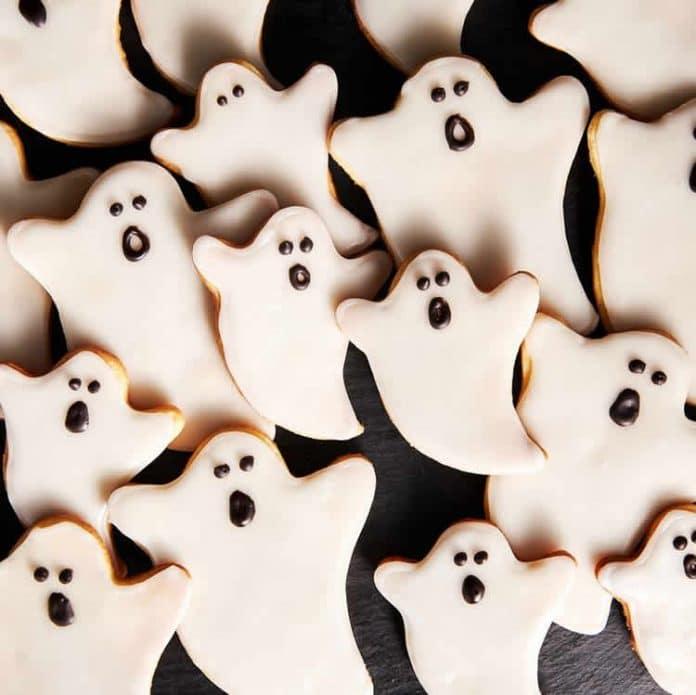 Gâteau fantôme pour Halloween